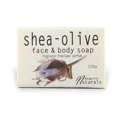 Shea Olive Unscented Soap