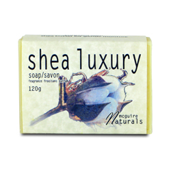 Shea Luxury Unscented Soap